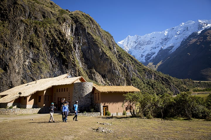 lodge in salkantay trek
